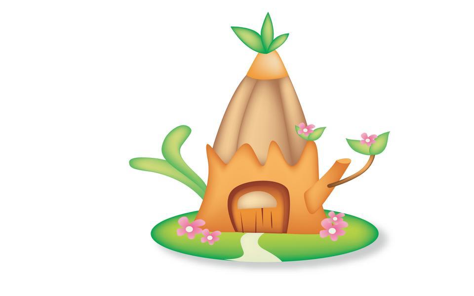 插图景观树屋