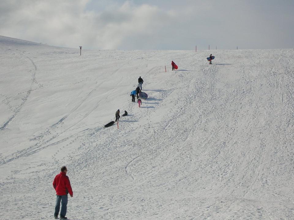 Climbing the Sledding Hill