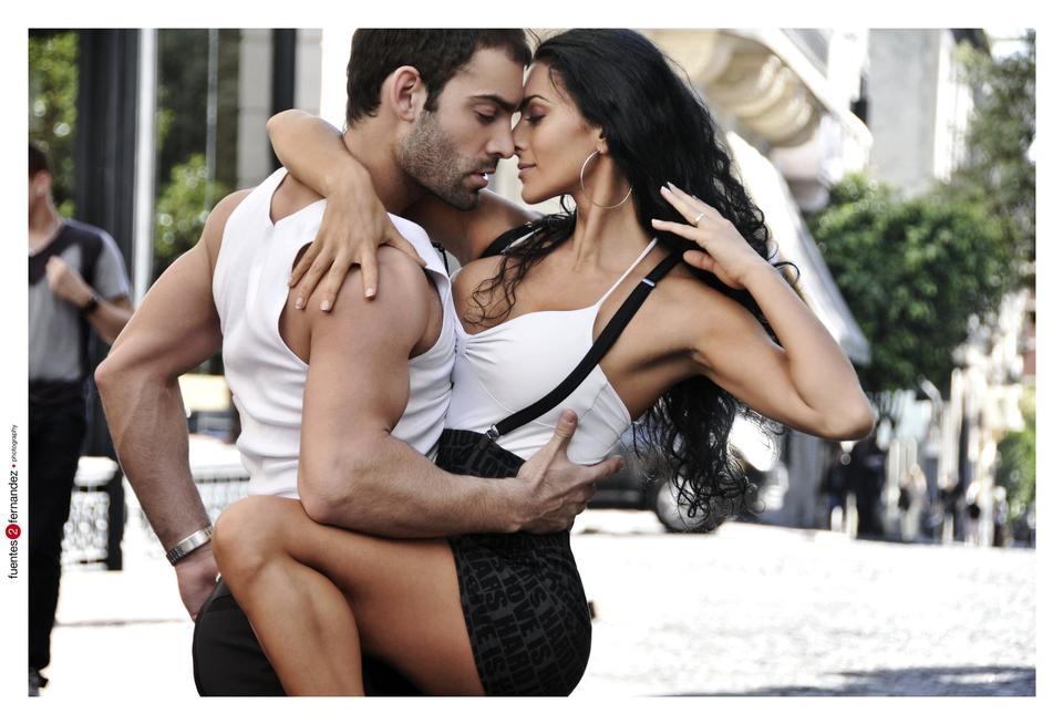 Argentinan Tango dancer
