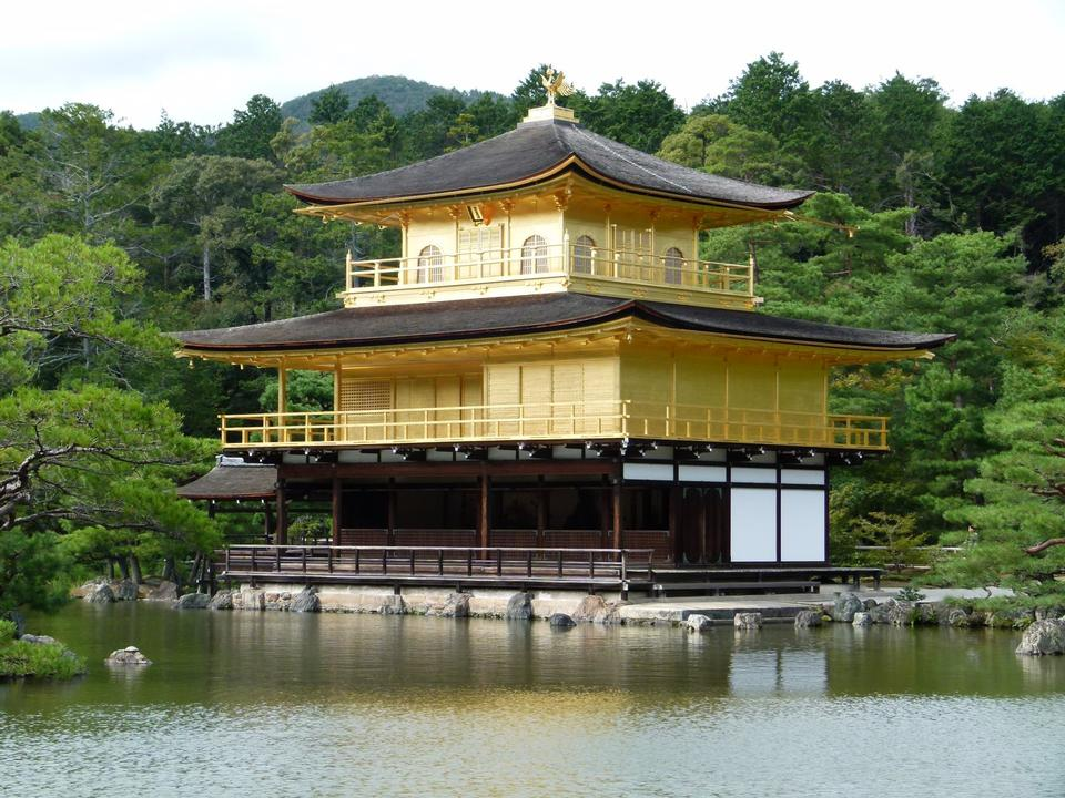 Goldener Tempel in Kyoto