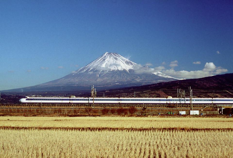 Japanese National Railways Shinkansen