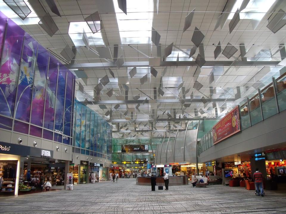 トランジットエリア、チャンギ空港、シンガポール