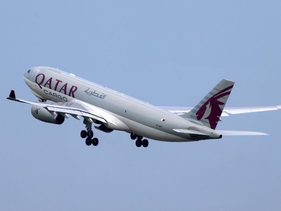 A7-AFZ卡塔尔航空公司空中客车货