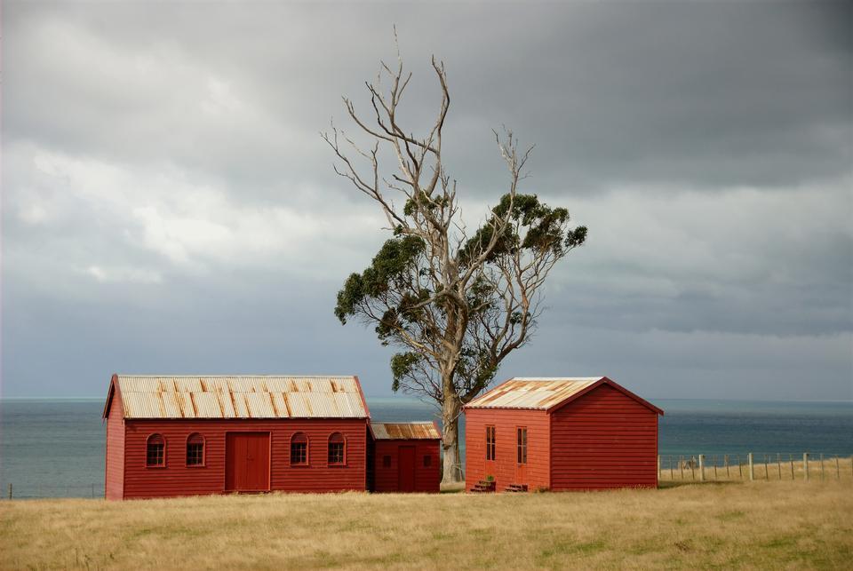 bâtiments agricoles en Nouvelle-Zélande