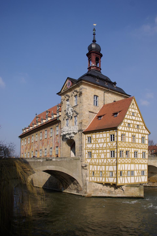 舊市政廳班貝格,巴伐利亞,德國
