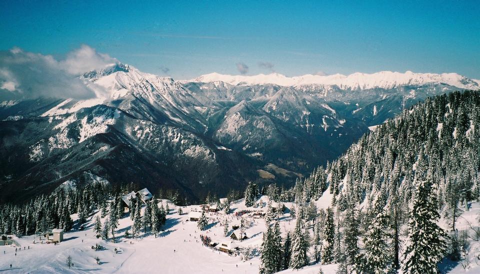 Krvavec ski resort, Slovenia