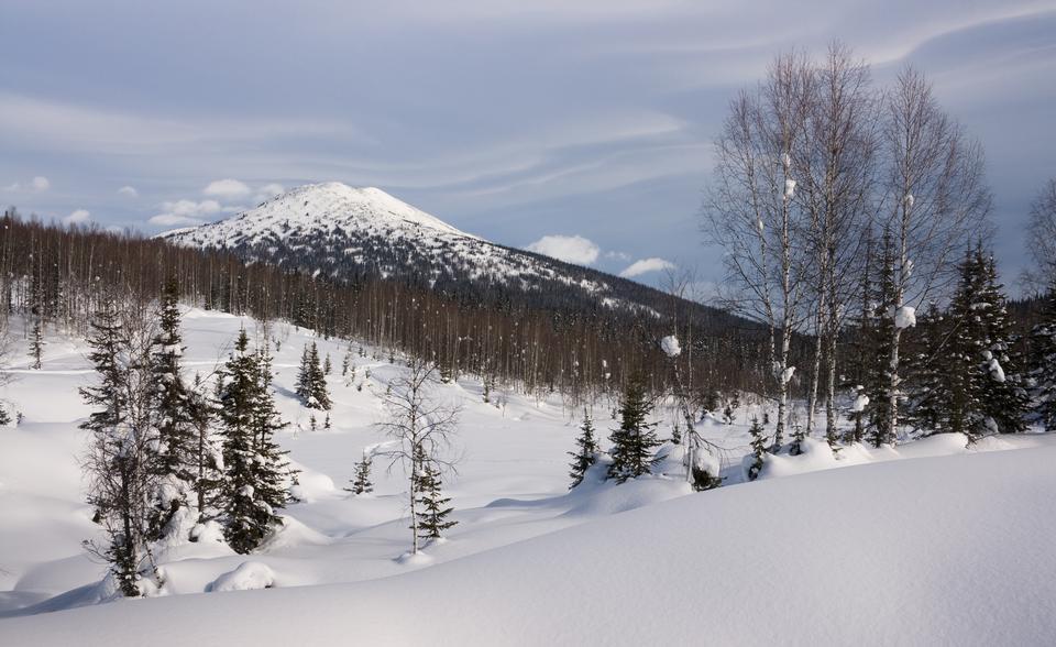 库兹涅茨克山,俄罗斯西伯利亚