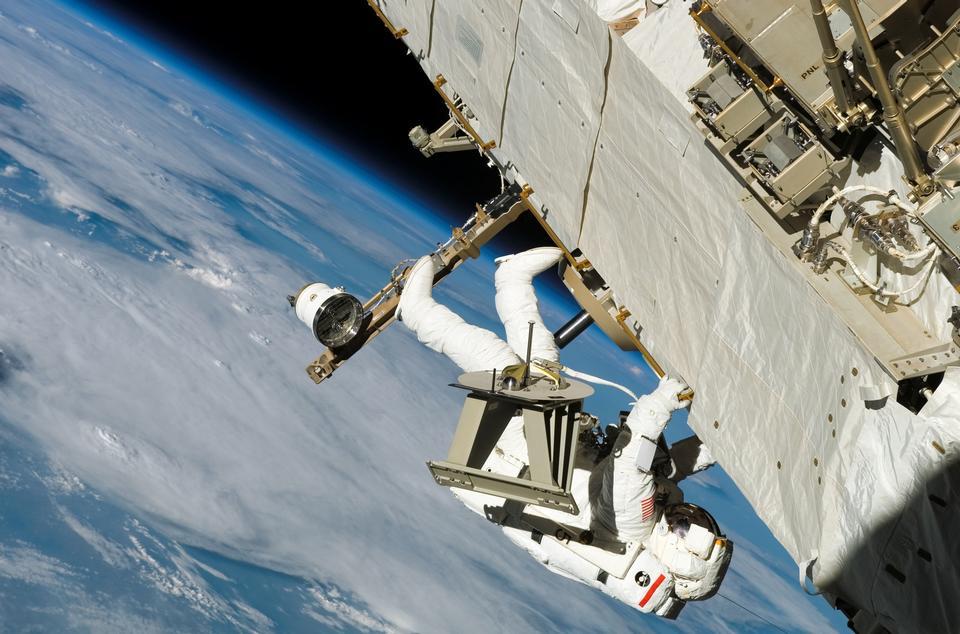 Especialista de misión del astronauta