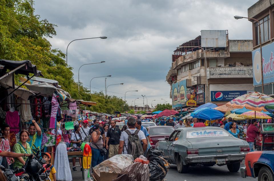 Flea market Maracaibo Venezuela