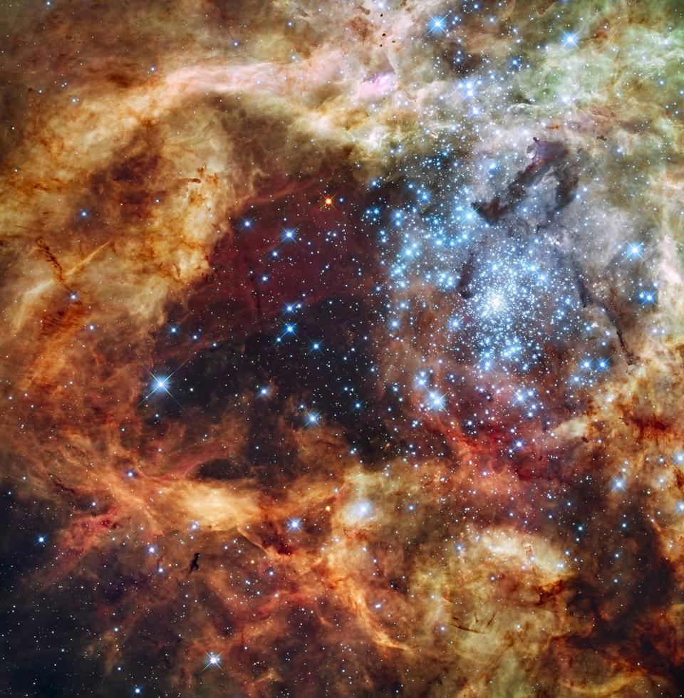 Gran galaxia de formación estelar