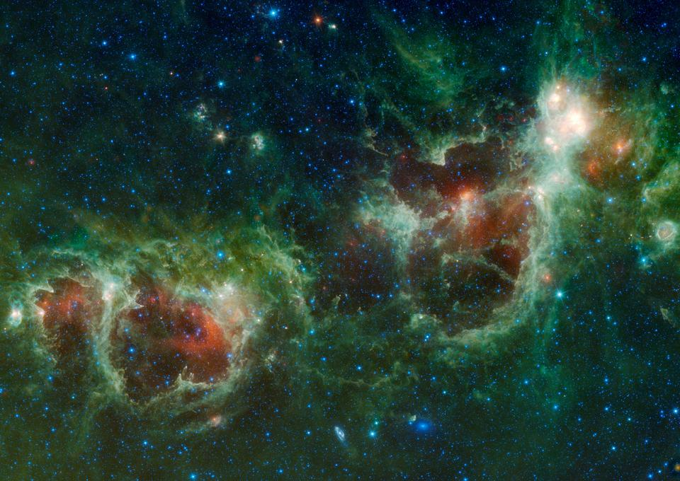 銀河心臟和靈魂星雲