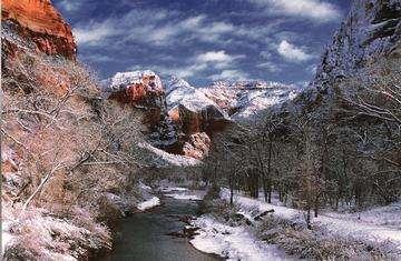 Descarga gratis la imagen de alta resolución - Parque Nacional Zion está situado en el sudoeste