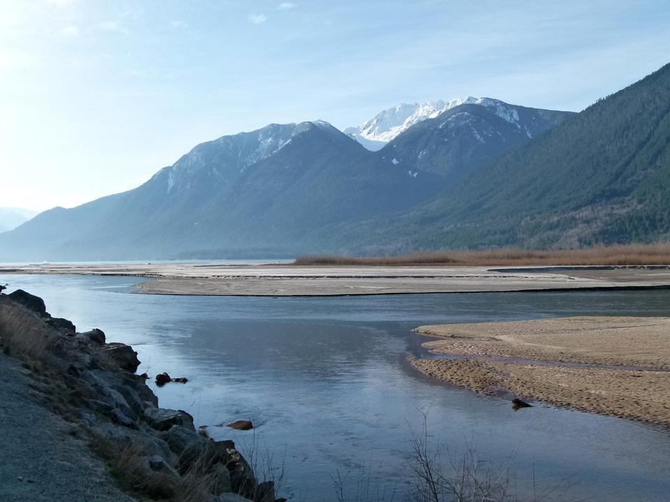 Lillooet Lake in Canada
