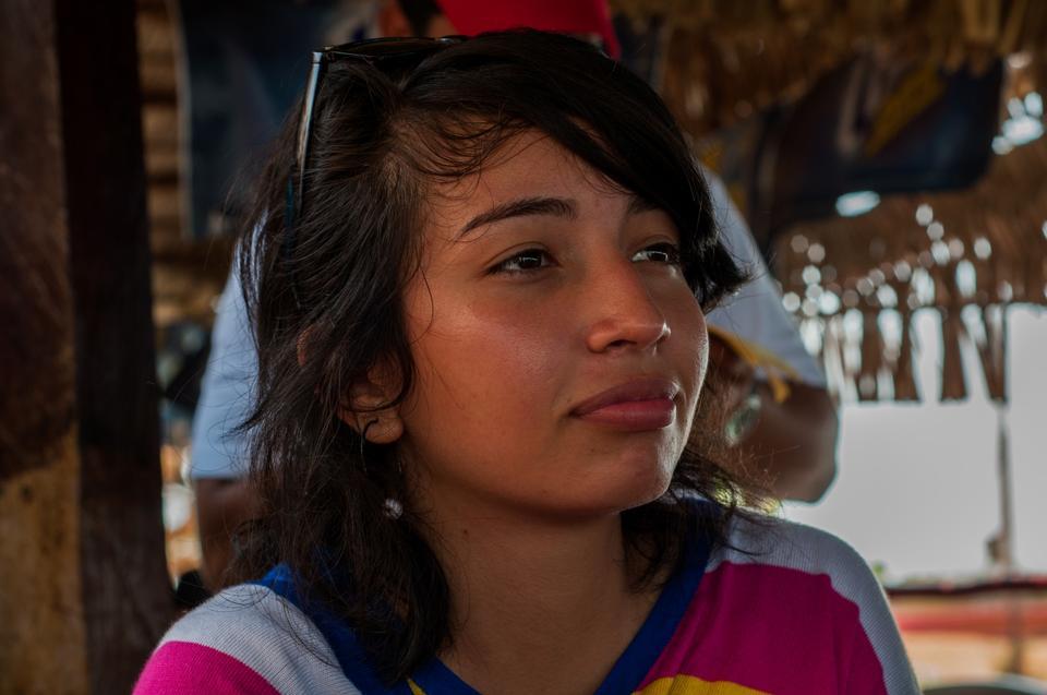 ベネズエラのかわいい女の子
