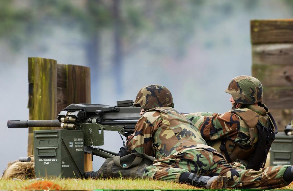 MK-19 40mm grenade launcher