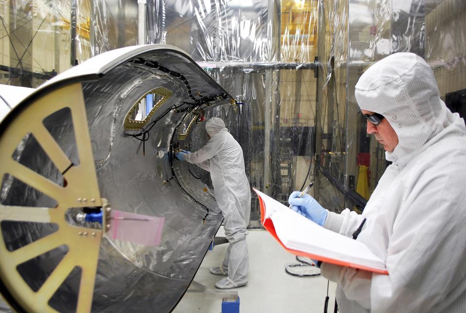 Preparing Solar Satellite for Launch