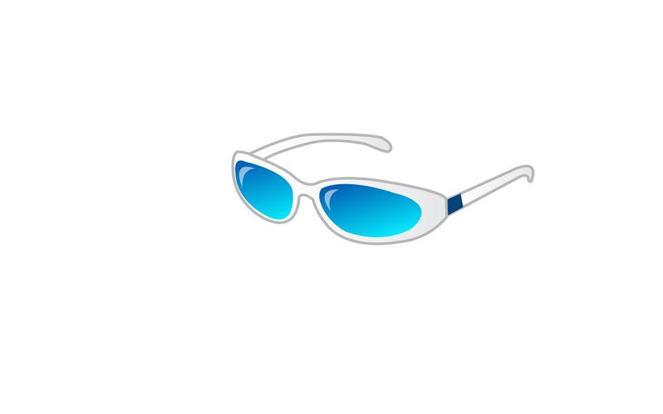 Sport sunglasses icon