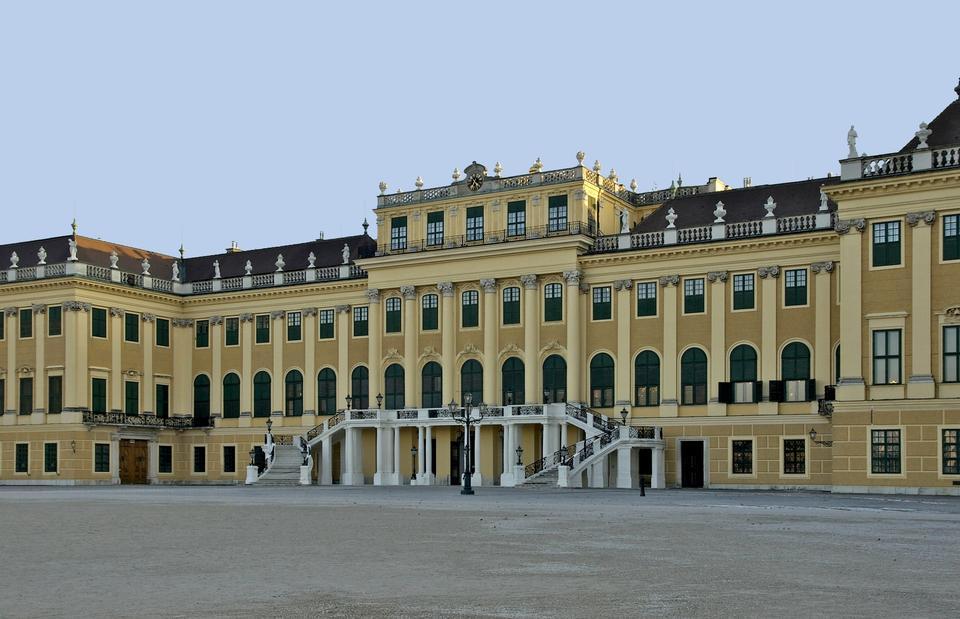 奧地利維也納 - 美泉宮,被聯合國教科文組織列為世界遺產