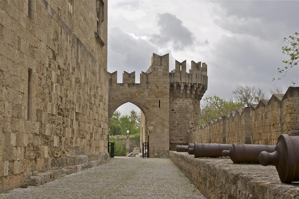 骑士中世纪大道,罗得岛,希腊