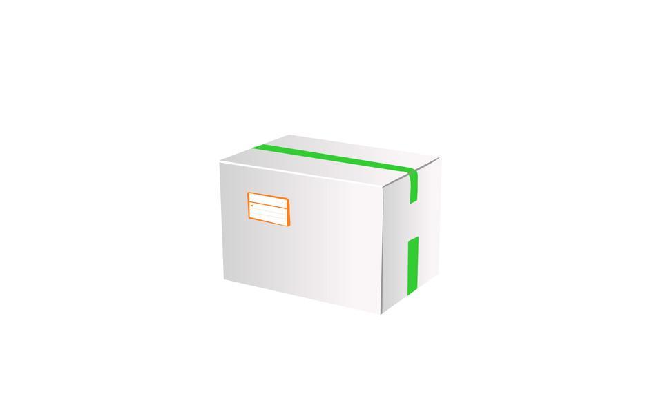 紙板箱圖標