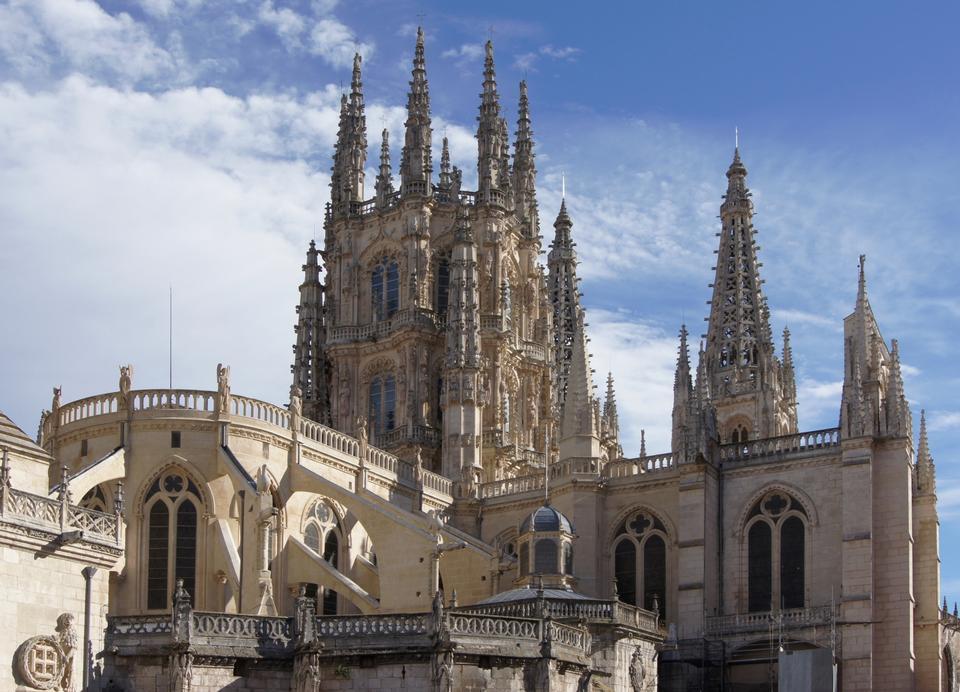 教堂奉献给圣母玛利亚在布尔戈斯,西班牙