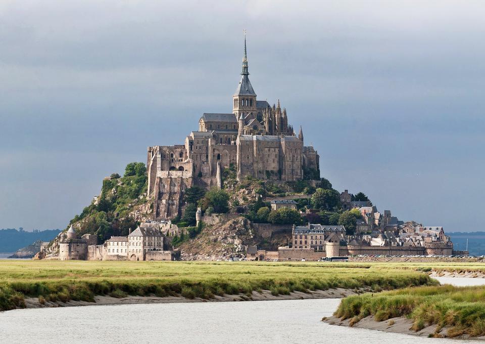 Mont Saint Michele, Francia