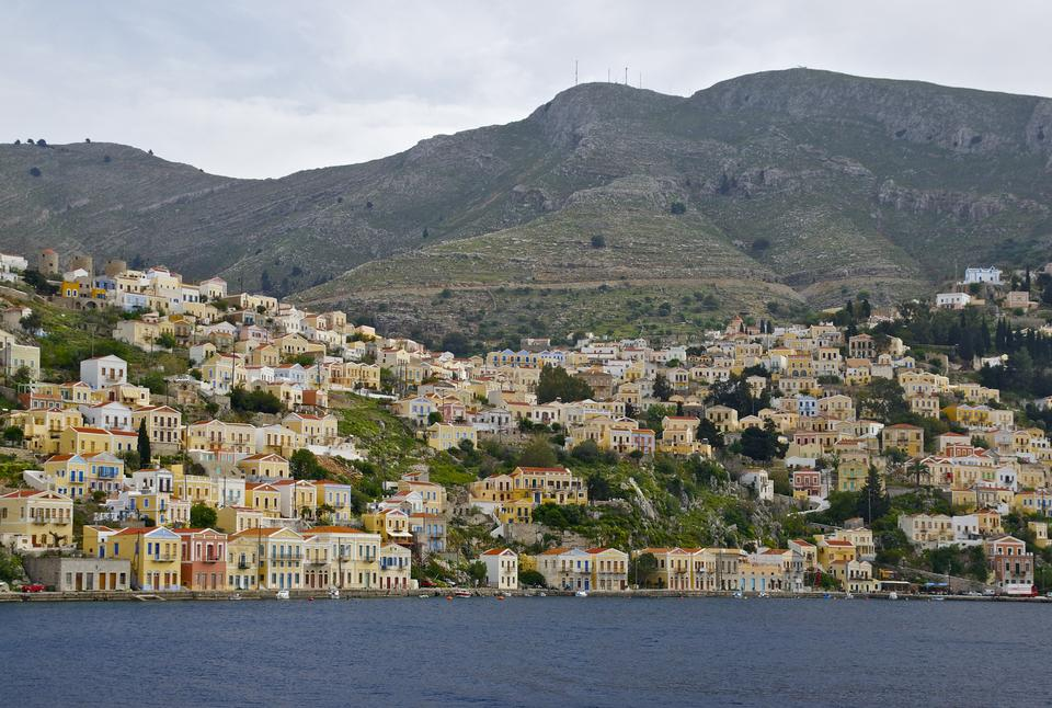Symi island in Greece