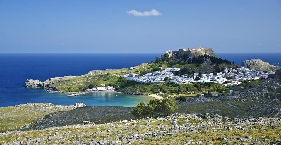 замечательный Греция. Остров Сими, Додеканес
