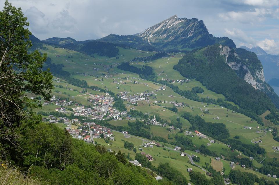 Durschlegi, Amden, 스위스의 작은 마을