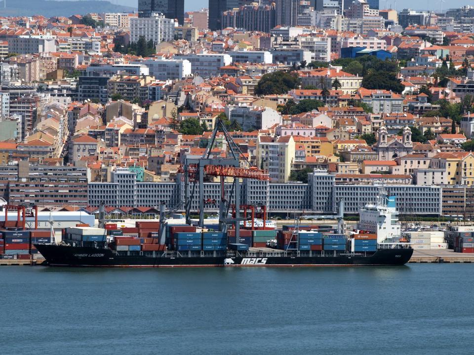 リスボン、ポルトガルの港