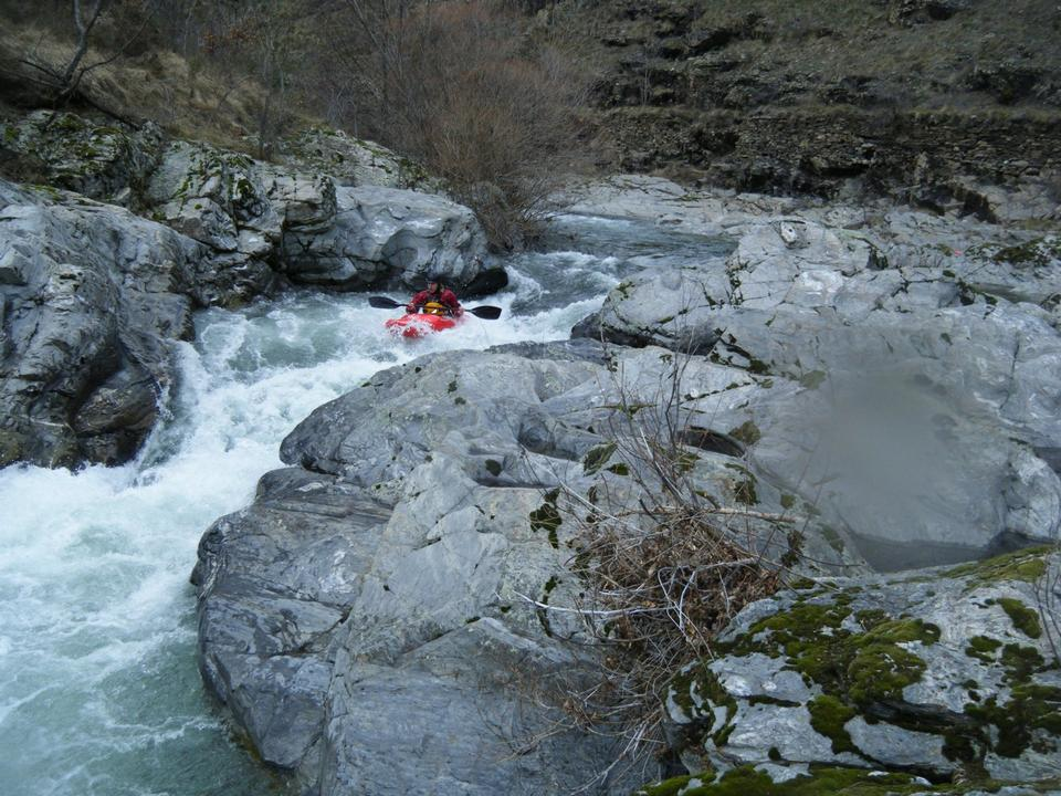 Rafting in Altier River