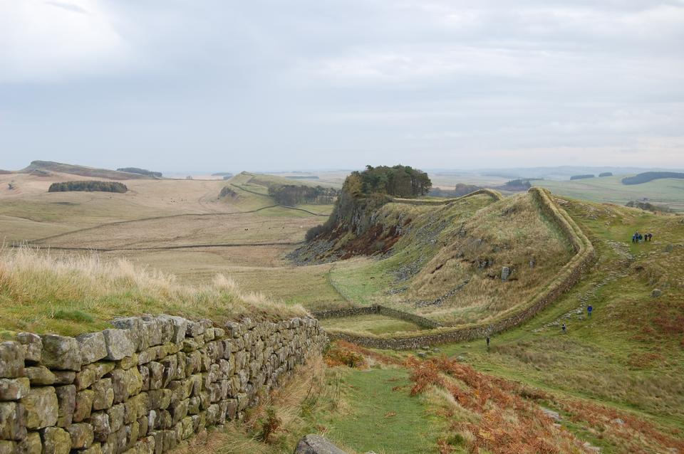 Hadrian's Roman Wall, Northumbria, North east England
