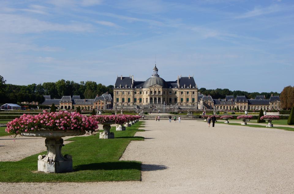 Vaux Le Vicomte, Francia, il castello