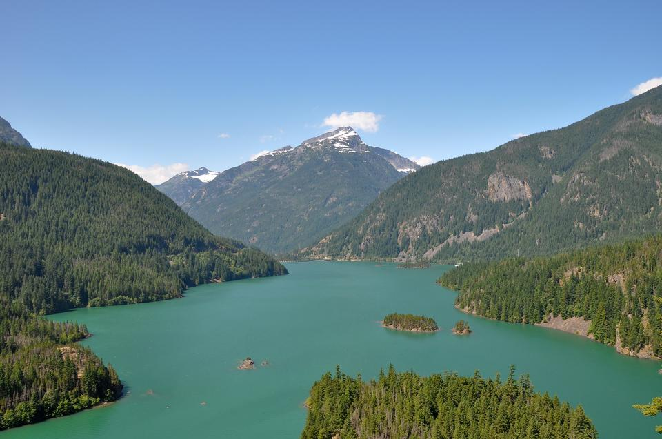 Diablo Lake en Washington