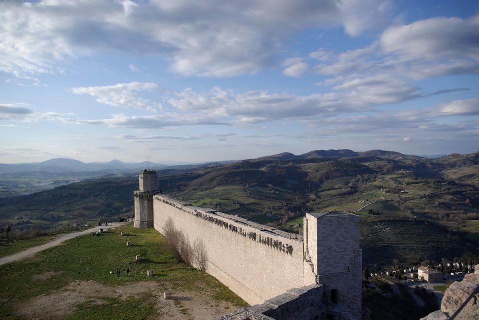 帝国の要塞ロッカ·マッジョーレ