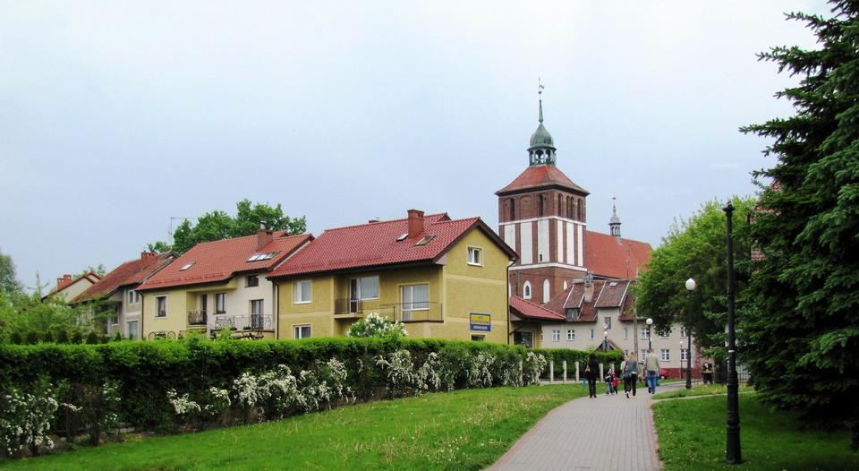 ポーランドの教会と旧市街