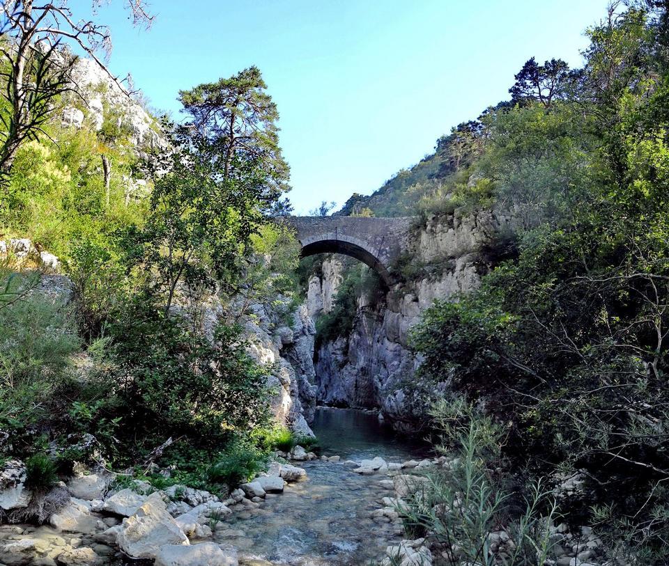 峡Artuby橋