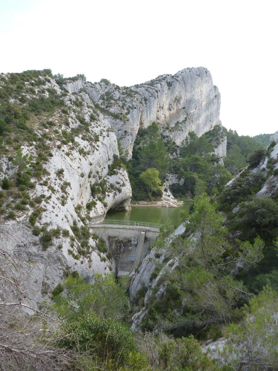 在法國Peirou壩
