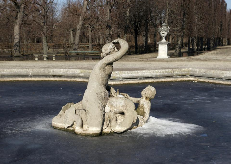 美泉宮城堡,維也納,奧地利的花園