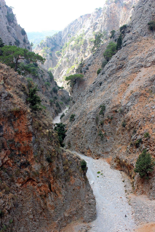 薩馬利亞峽谷克里特島希臘