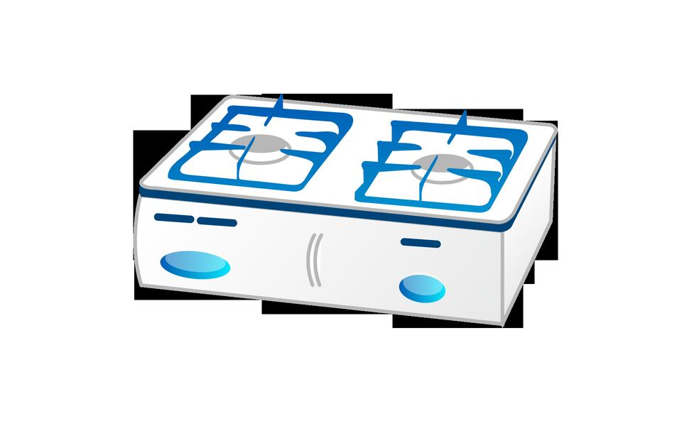 Cocina de gas Icono
