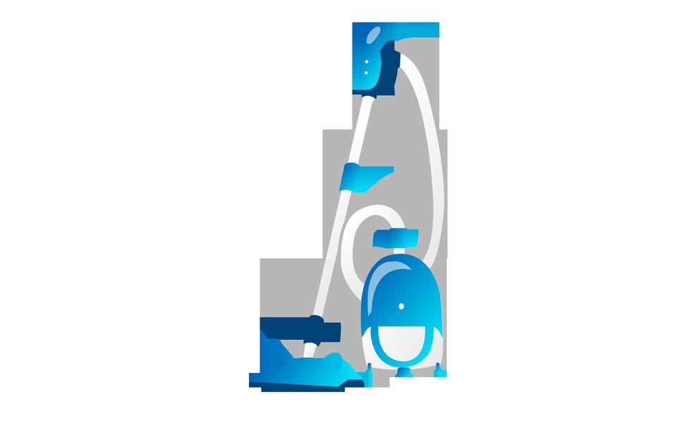 진공 청소기 아이콘