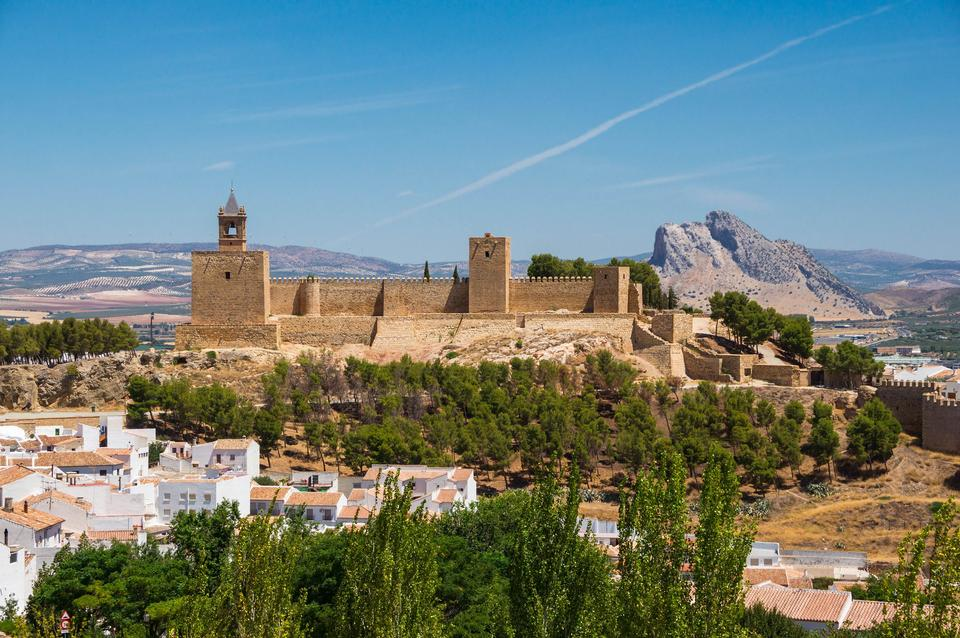 Alcazaba of Antequera, Andalusia, Spain