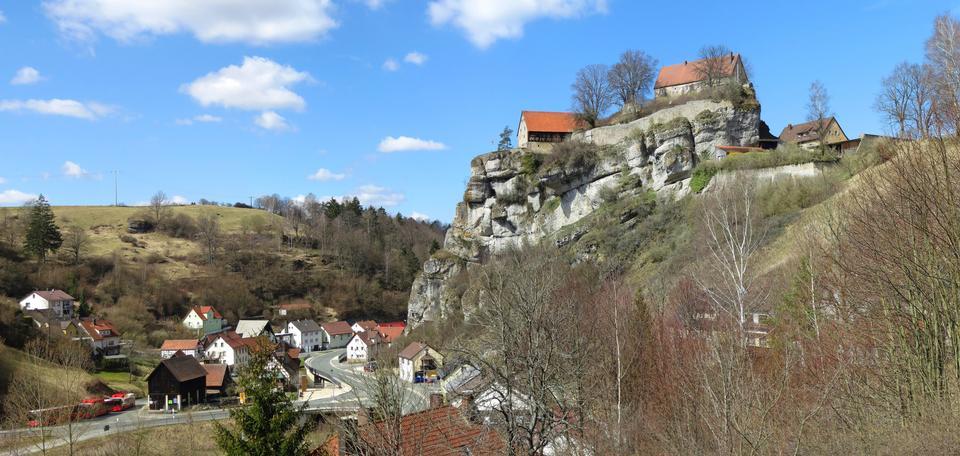Burgberg von Pottenstein Germany