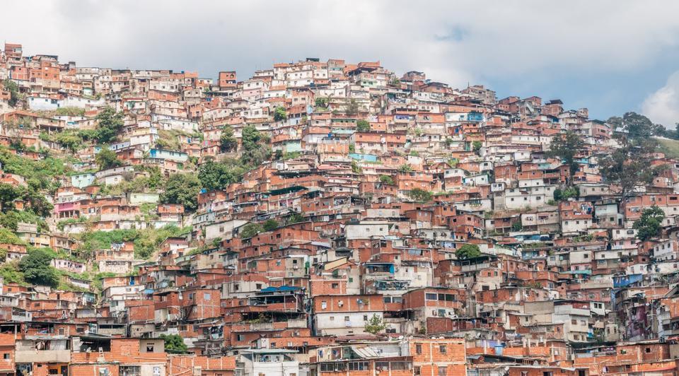 Bidonvilles au Venezuela