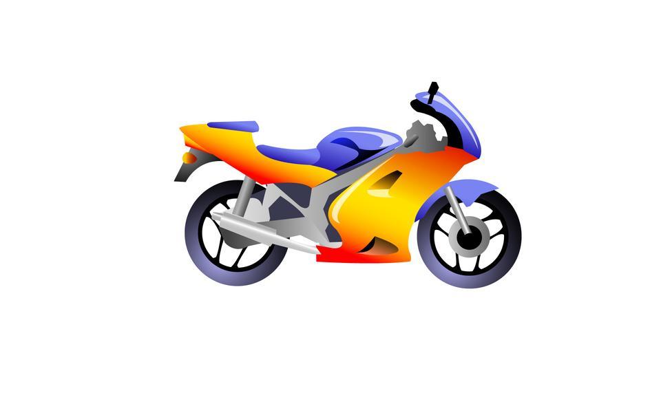 Illustration motorcycle