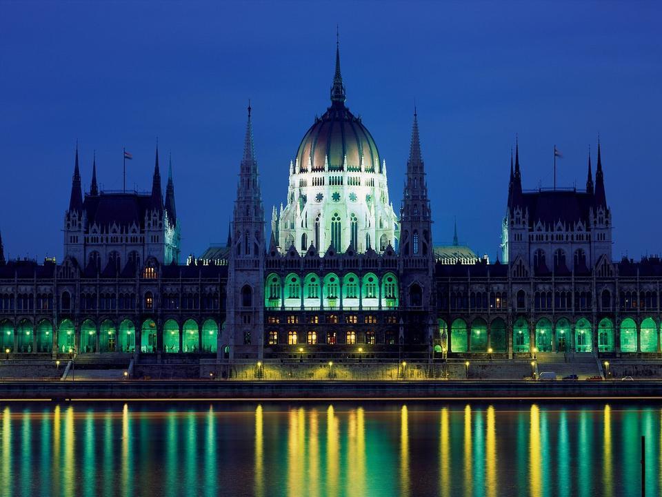 Palazzo del Parlamento, Budapest, Ungheria