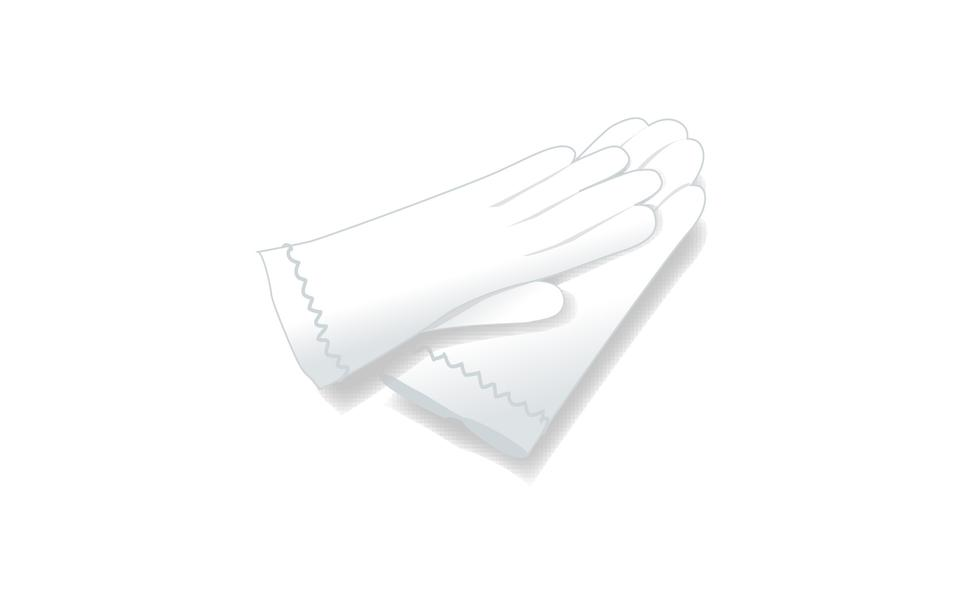 一双缎面手套
