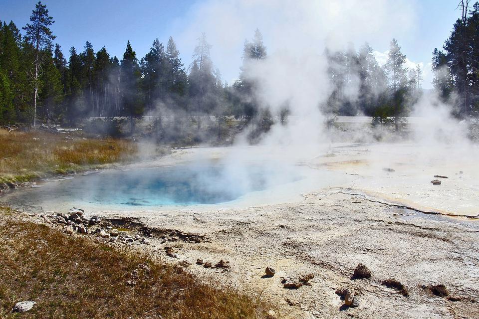 Stagno Parco Nazionale di Yellowstone