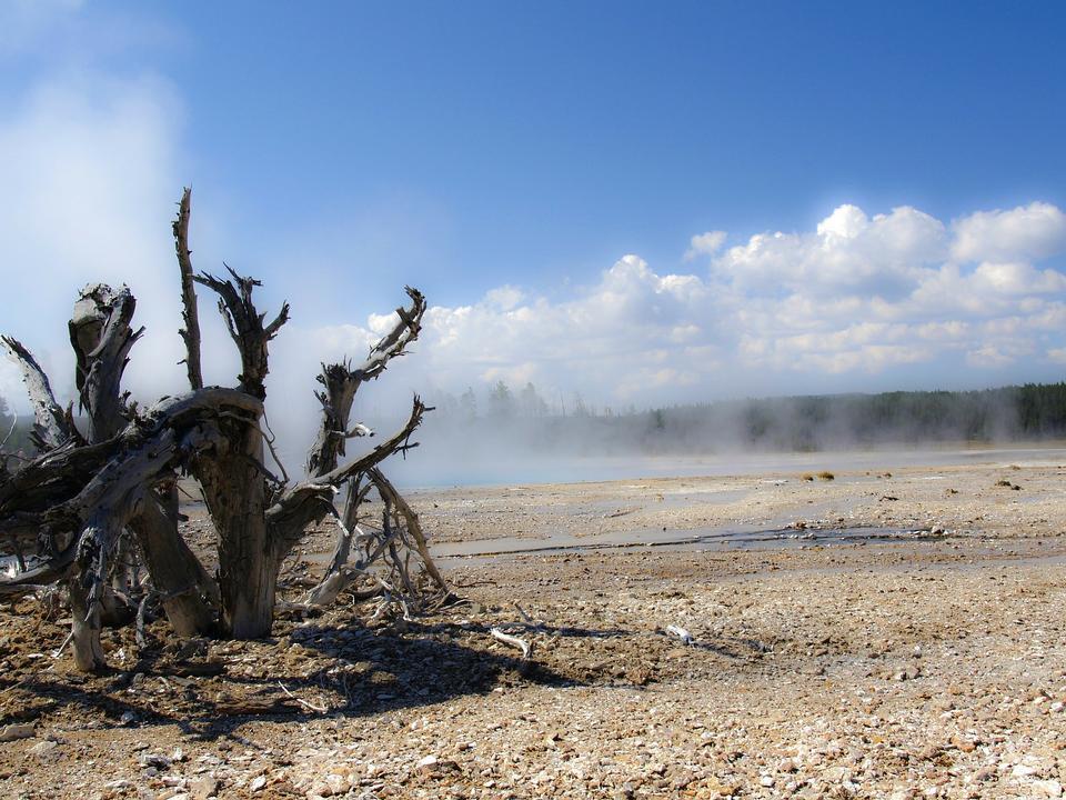 黄石国家公园怀俄明州